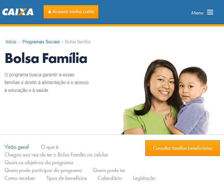 Consultar Bolsa Família