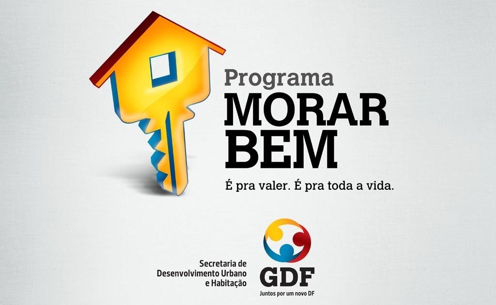 Programa Morar Bem DF 2021