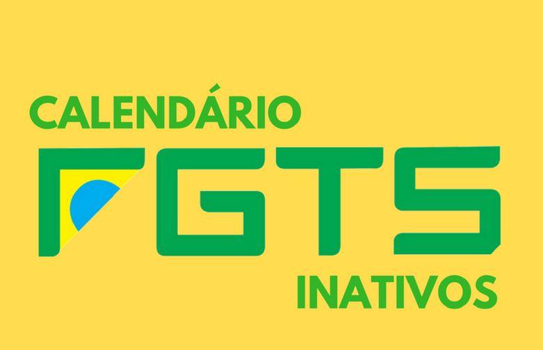 Calendário FGTS Inativo 2021